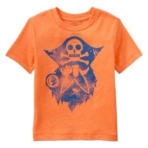 Baby Gap PIRATE skull crossbones top shirt 18-24